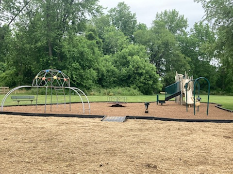 Ourdoor playground in daylight